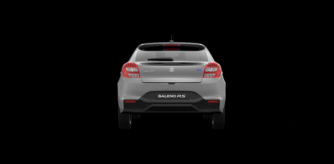 Baleno RS Silver Car Back View