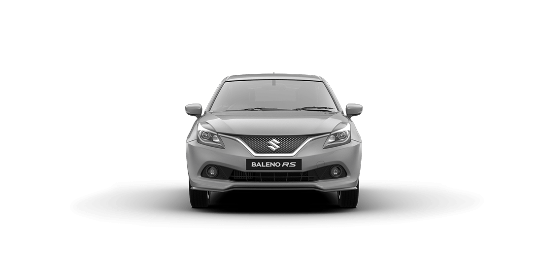 Baleno Silver car views