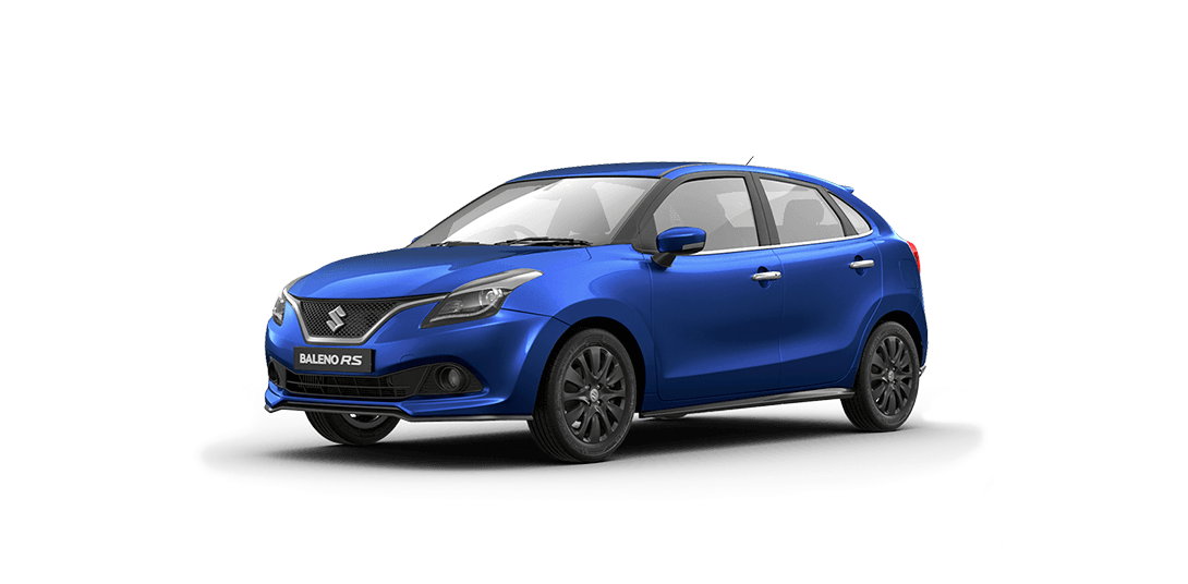 Baleno Urban Blue car views