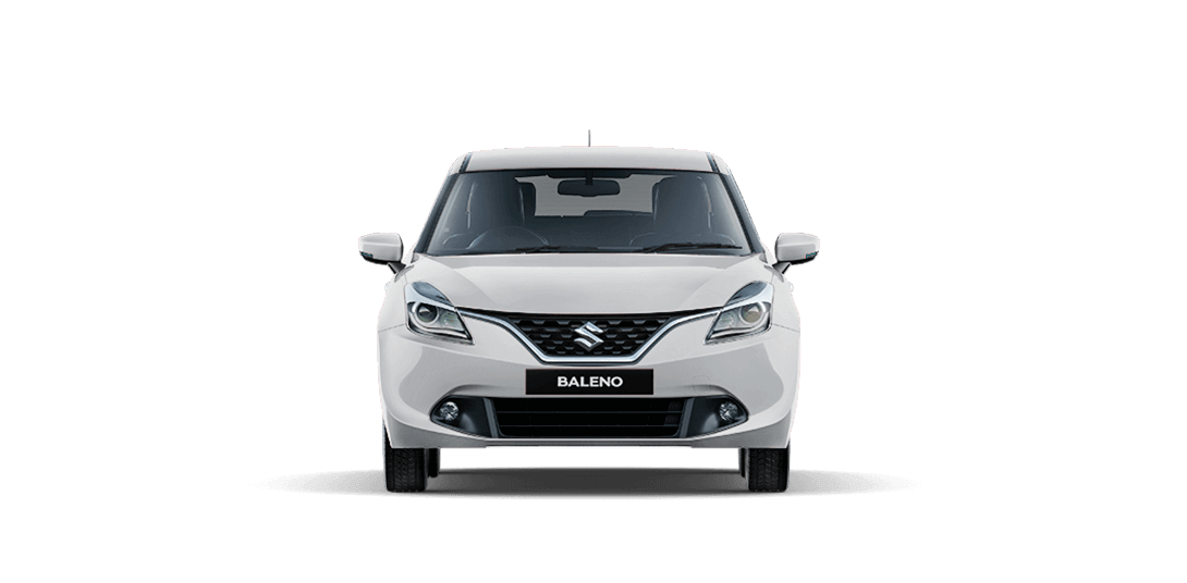 Baleno White car views