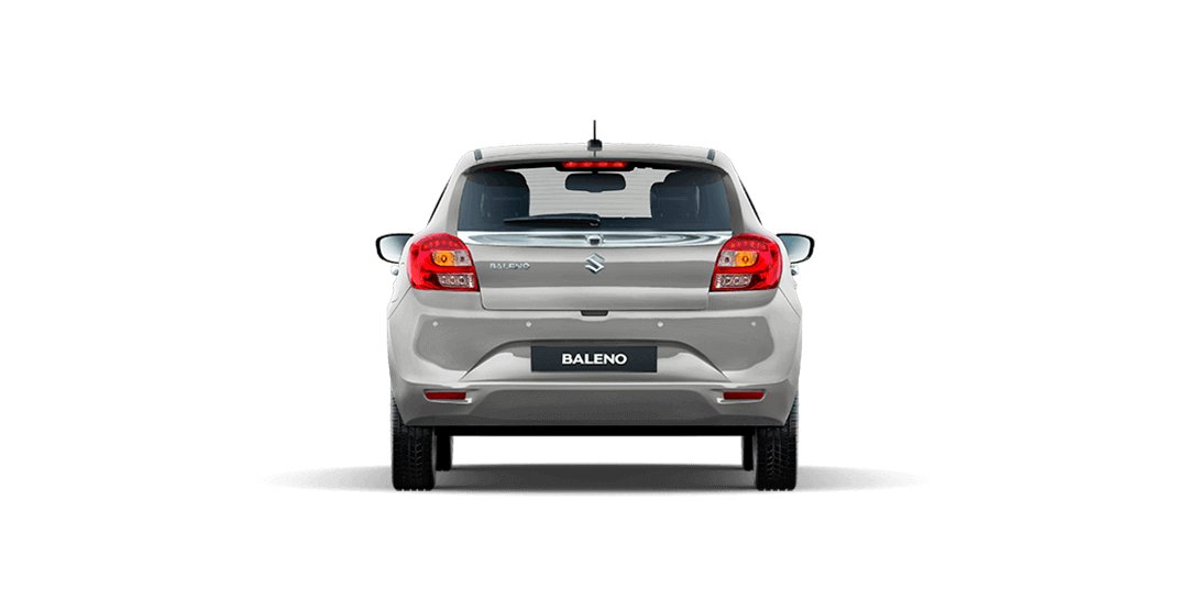 Baleno Silver car side views