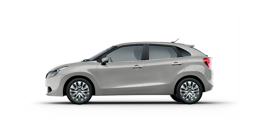 Baleno Silver cars back views