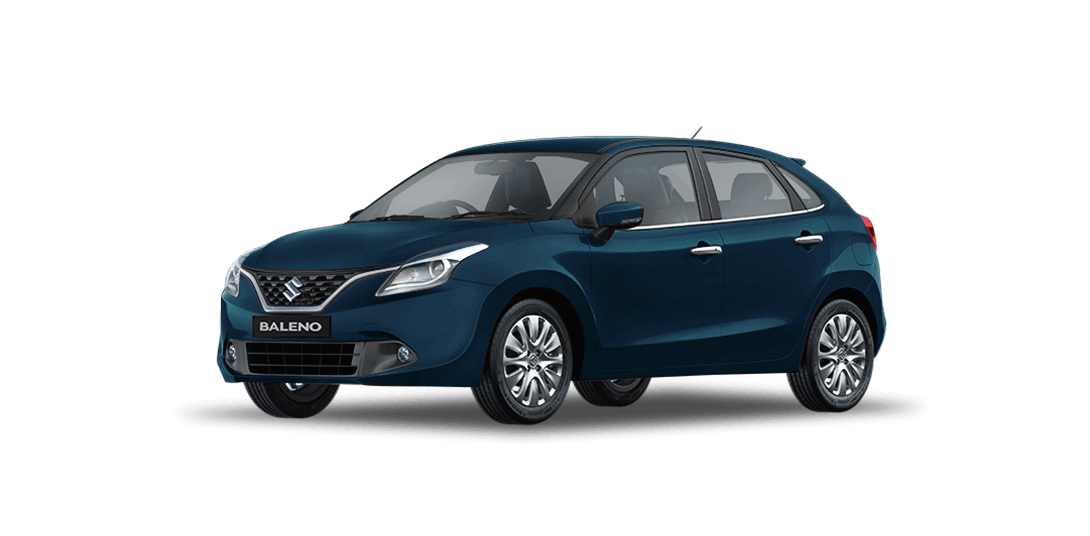 Baleno RayBlue car views