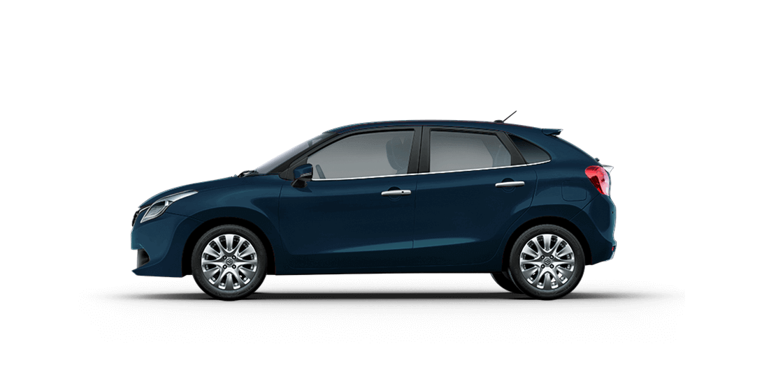 Baleno RayBlue cars back views