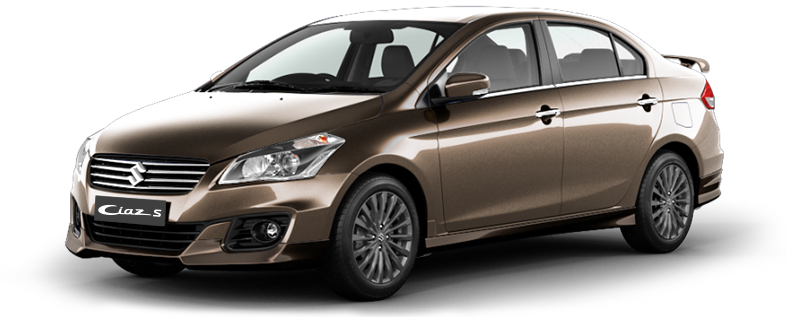 Ciaz-S Car in Brown