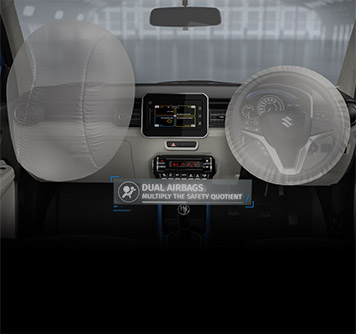 Ignis Dual Airbags
