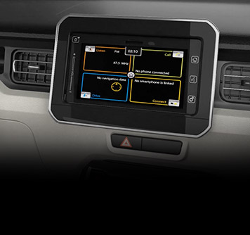 Ignis Car FM Radio Feature