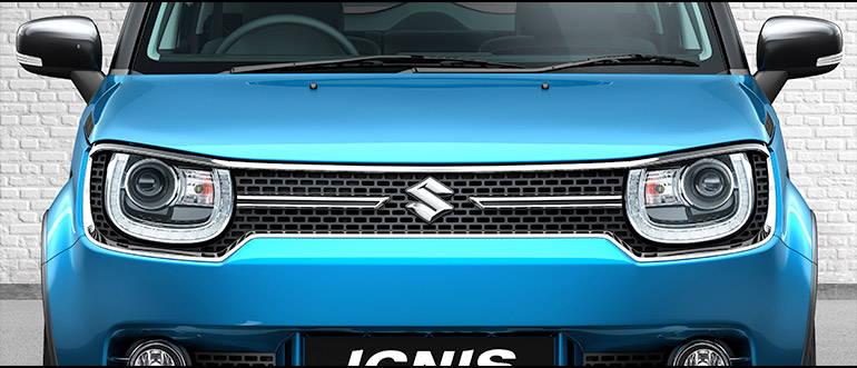 Ignis Car Exterior Features