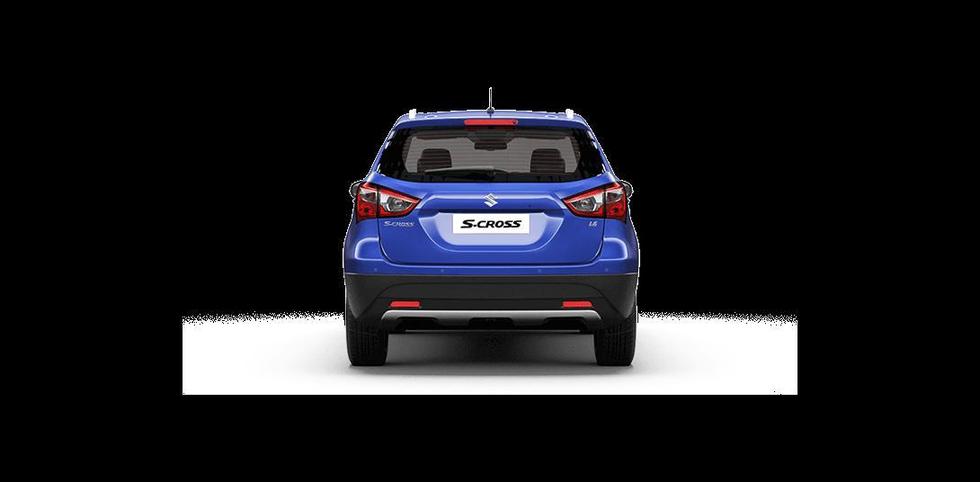 S-cross Blue cars sideback views