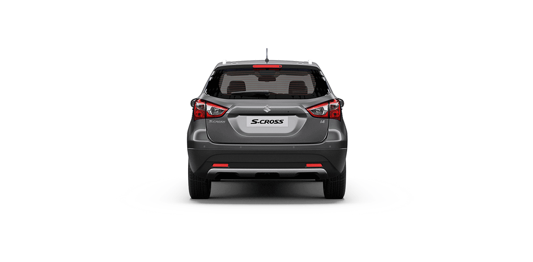 S-cross Gray car sideback views