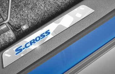 S-Cross LED Door Sill Guard