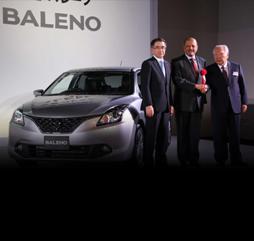 Baleno Launched in Japan