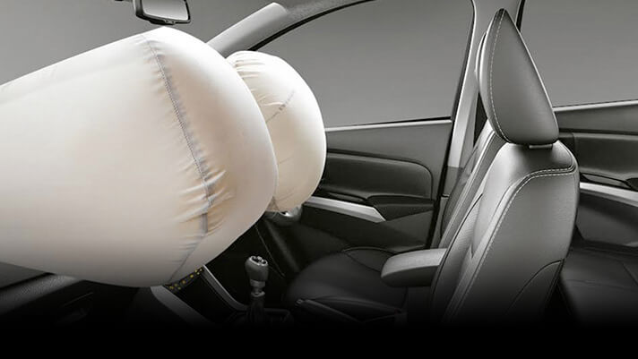S-cross safety airbag features
