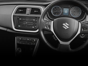 S-cross interior car features