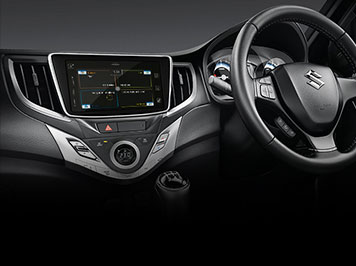 Baleno interior car features